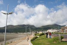 Slieve Donard in the clouds